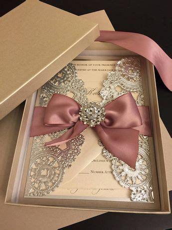 Pin by Ene on Ideas Wedding invitation trends Box