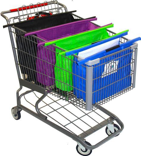 shopping cart trolley bags funk n organized