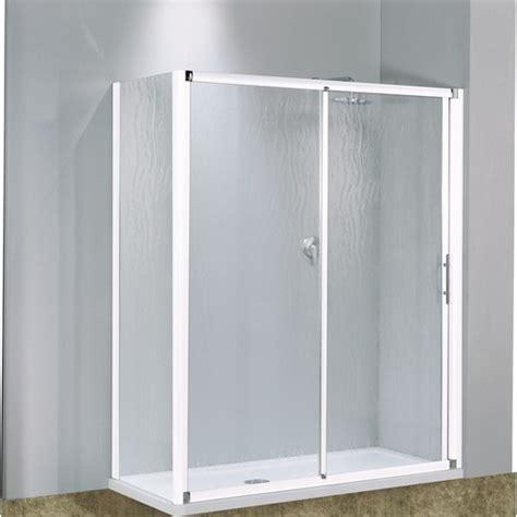 porte coulissante 2 panneaux verre transparent lunes 114 224 120 cm bricozor