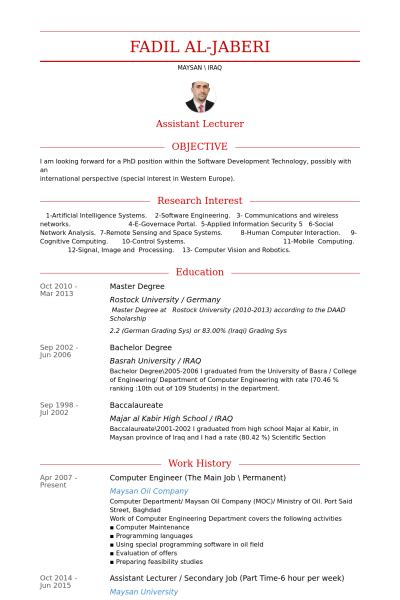 computer engineering cv sample  resume examples
