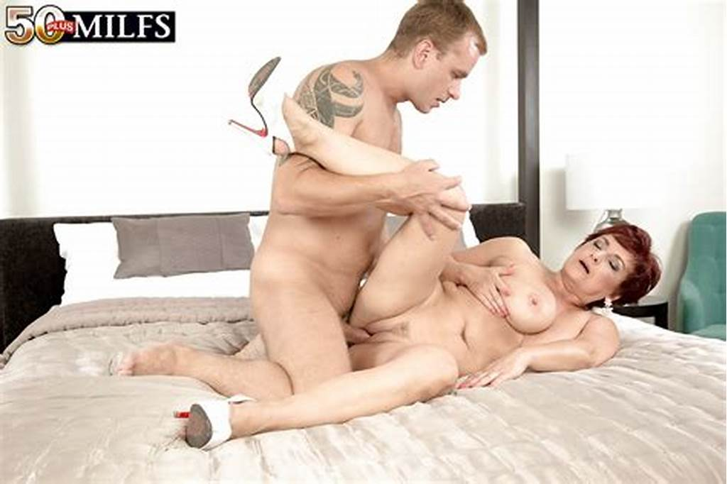 #Short #Haired #Over #50 #Redhead #Milf #Jessica #Hot #Taking #Big