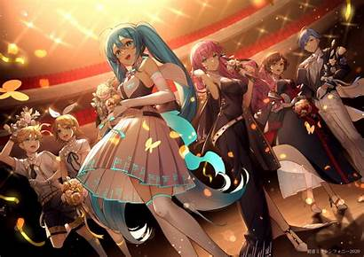 Vocaloid Anime Uhd Konachan 4k Kagamine Aqua