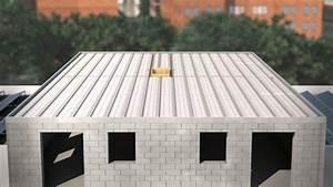 plancher toiture terrasse youtube With prix dalle beton maison
