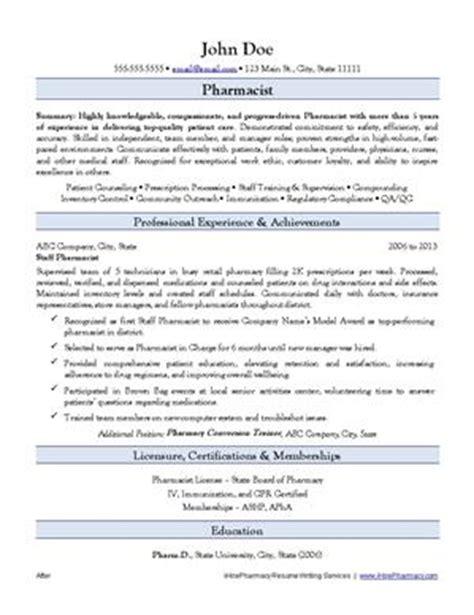 pharmacy resume writing service ihirepharmacy