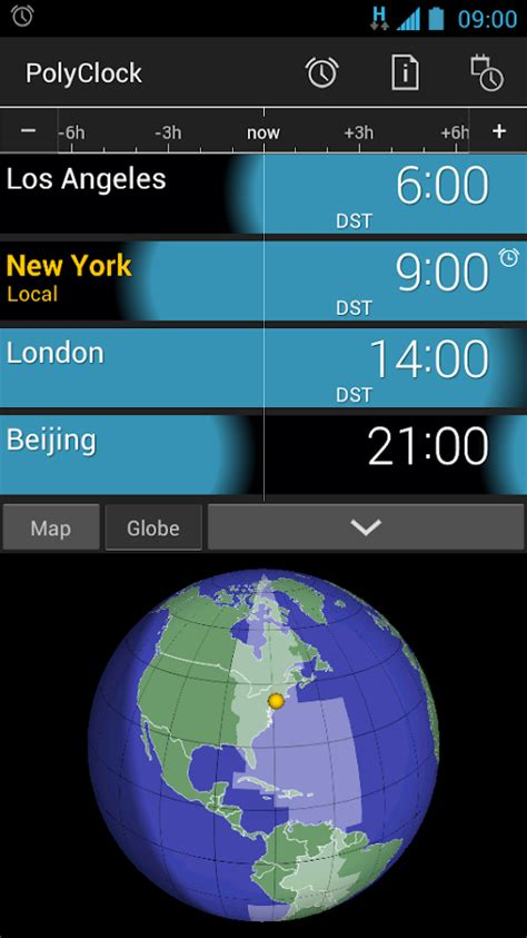 polyclock world clock android apps google play