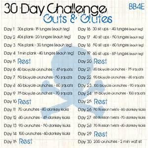 30-Day Glute Challenge