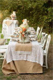 burlap wedding ideas outdoor decoration ideas for rustic weddings