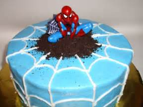 Spiderman Cake Cooking Spiderman Simple Cake Decorating For A Birthday Cake Of Your Loved Ones
