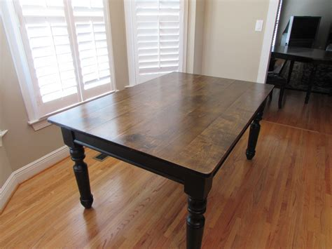 custom kitchen farmhouse table just fine tables