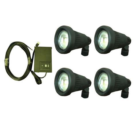 shop portfolio halogen plug in spot light kit at lowes com