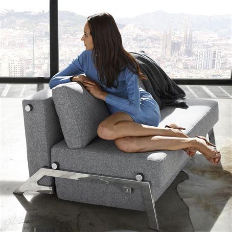 canapé ée 60 chauffeuse et canapé lit convertibles de luxe cubed chrome