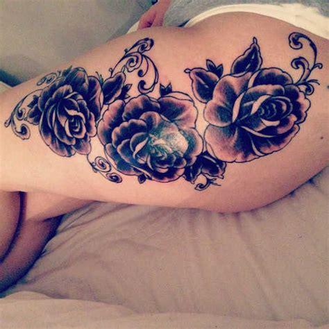 beautiful thigh tattoo ideas  women