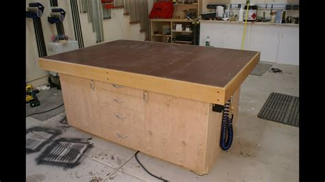 build  torsion box assembly table top part