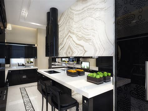and black kitchen ideas white and black kitchen interior design ideas