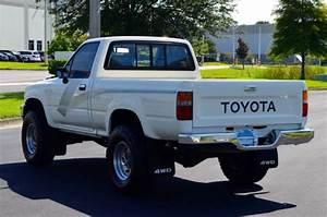 1989 Toyota Pickup Dlx 4x4 Regular Cab Tacoma Trd Hilux 22re 5 Speed No Reserve