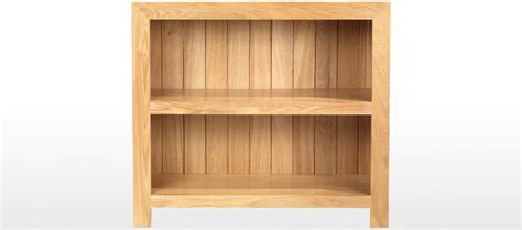 oak cube bookcase cube oak low bookcase quercus living