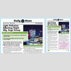 * New * Uks2 Light Pollution Daily News Story