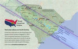 Solar Eclipse 2017 Path South Carolina Map