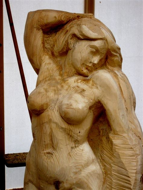 erbs woodcarving blog chainsaw carving day iv