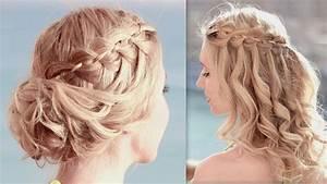 Chignon Cheveux Mi Long : coiffure mariage tresse cheveux long srk08 slabtownrib ~ Melissatoandfro.com Idées de Décoration