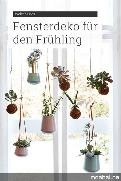 Zum Aufhängen by Sch 246 Ne Fensterdeko F 252 R Den Fr 252 Hling Wir H 228 Ngen Blumen In