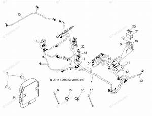 Polaris Side By Side 2013 Oem Parts Diagram For Electrical  Wire Harness  Eps