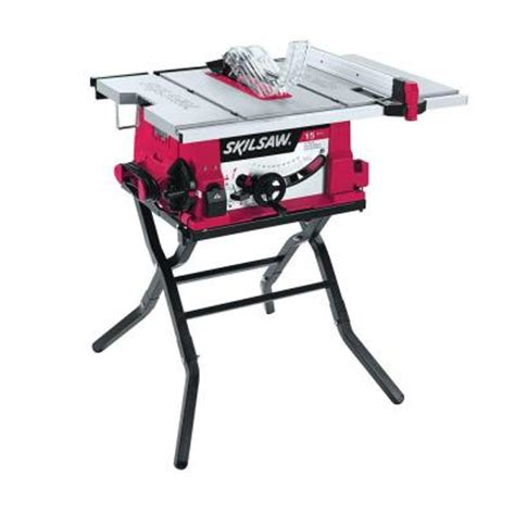 skil flooring saw home depot skil 15 10 in corded table saw with folding stand