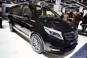 Mercedes Gap : brabus sprinter and v class fill the luxury van gap in frankfurt autoevolution ~ Gottalentnigeria.com Avis de Voitures