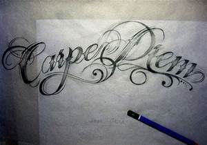 acbe04de0 Carpe diem tattoo | Quotes | Pinterest | Fonts, I want and .