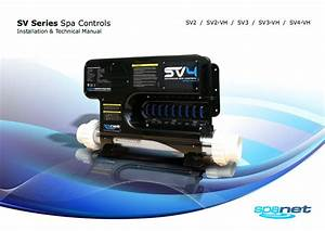 Sv Series Wiring Diagram  U2013 Spa World Help Centre