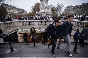 Shaken The People Of Paris Search For Normalcy After
