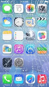 7 Broken Screen Wallpapers For Apple iPhone 5, 6 and 7 ...