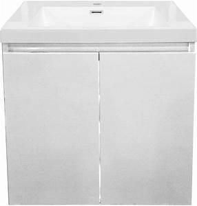 Meuble Sous Vasque 80 Cm : alterna meuble sous vasque primeo 80 cm 2 portes ~ Nature-et-papiers.com Idées de Décoration