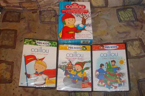 Caillou Dvd Box Set For The Holidays