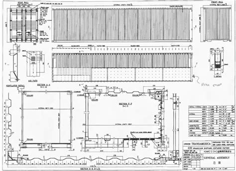 shipping container floor plans dwg shipping container cad drawing studio design gallery