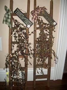 Leiter Dekorieren Wie Sie Eine Leiter Weihnachtlich Dekorieren K