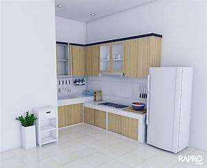 gambar kitchen set minimalis 2017 dapur minimalis idaman With design interior kitchen set minimalis