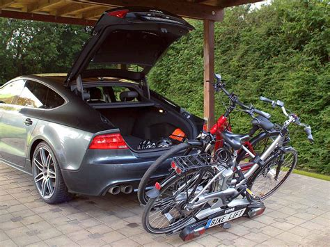 e bike fahrradträger eufab mit elektrisch absenkbaren e bike fahrradtr 228 ger