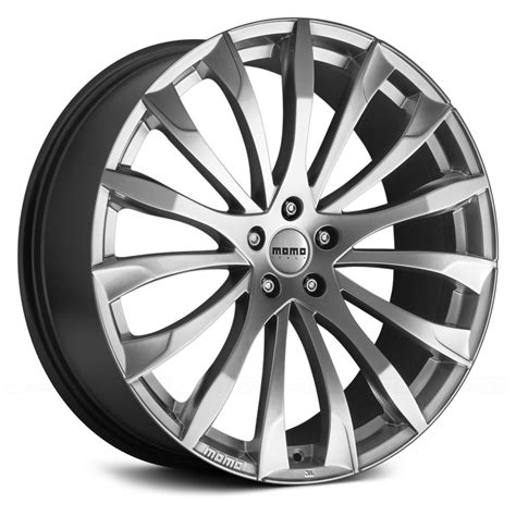 MOMO® STING Wheels - Hyper Silver Rims