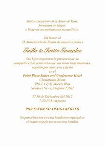 best photos of 25th church anniversary invitation samples With 50th wedding anniversary invitations wording in spanish