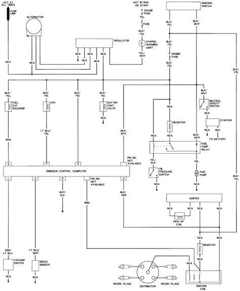 1985 Toyotum Celica Wiring Diagram For Ignition On by Repair Guides