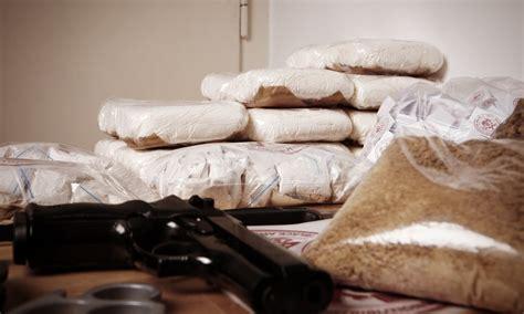 Heroin and Cocaine Drug Bust