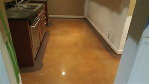 stained concrete floor with 4 inch border in atlanta With concrete floors atlanta