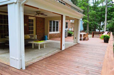 open er up converting a sunroom into a veranda