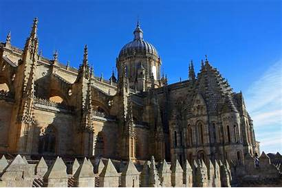 Salamanca Cathedral Spain Cathedrals Vieja Church Portugal