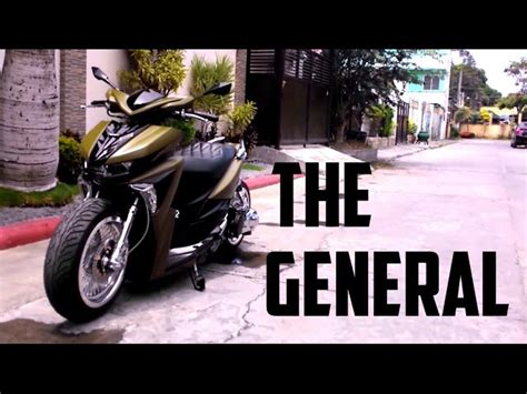 Modification Black by Yamaha Mio Soul I 125 Modified 123vid