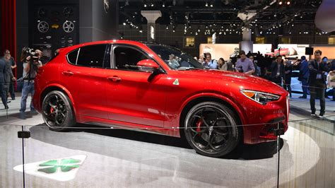 alfa romeo stelvio arrives  summer
