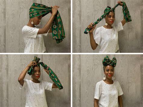 tie  headwrap   fabulous ways huffpost