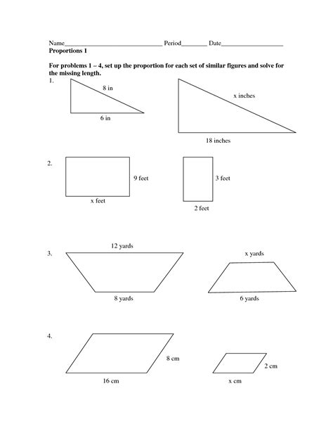 8th grade math scale factor worksheets 13 best images of