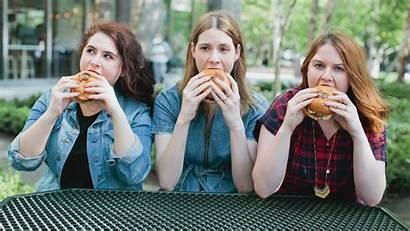 Lipstick Eating Burgers Hacks Glamour Friedman Katie